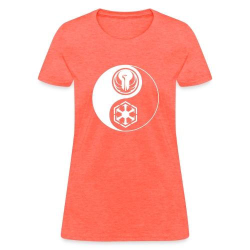 Star Wars SWTOR Yin Yang 1-Color Light - Women's T-Shirt