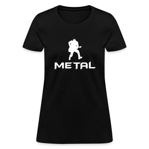 Metal White - Women's T-Shirt