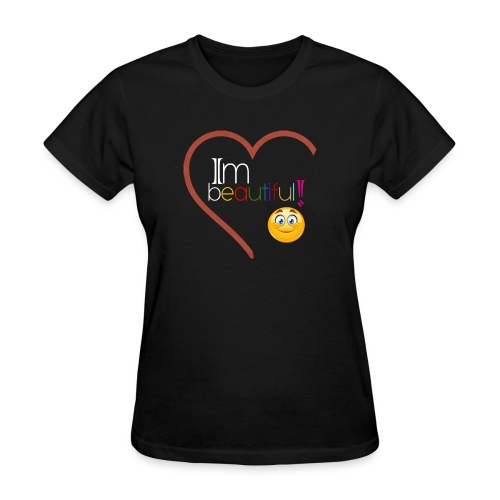 i'm beautiful - Women's T-Shirt