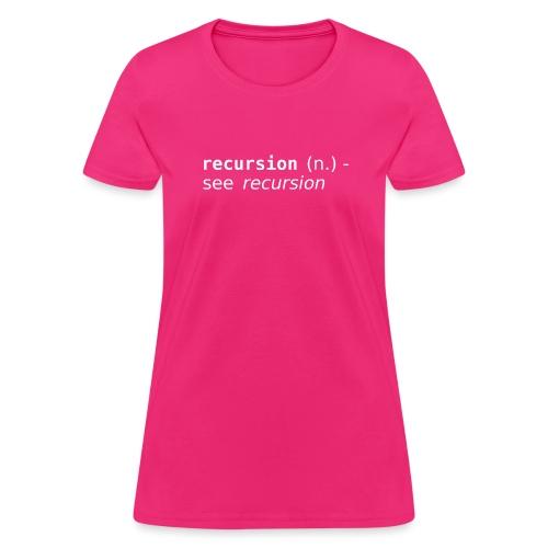recursion2 - Women's T-Shirt