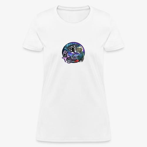 Mother CreepyPasta Nursery Rhyme Circle Design - Women's T-Shirt
