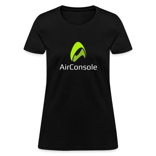 New Logo AirConsole White - Women's T-Shirt
