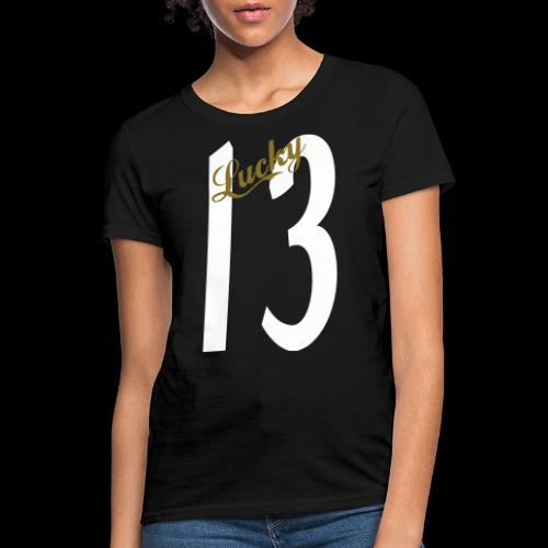 Lucky Thirteen - Women's T-Shirt