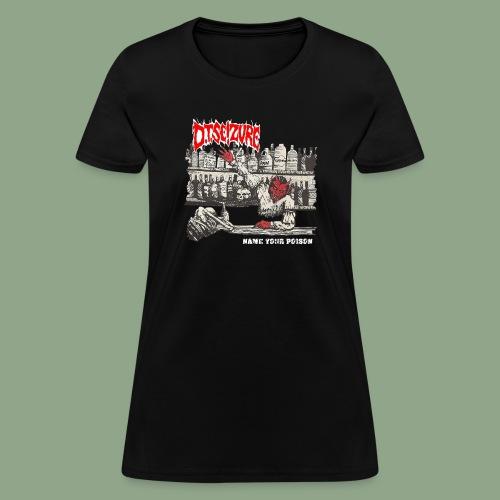 D.T. Seizure - Name Your Poison (shirt) - Women's T-Shirt