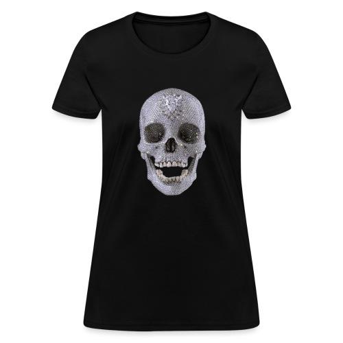 diamond_skull_1 - Women's T-Shirt