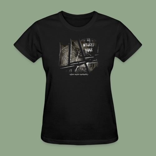 My Silent Wake Silver Under Midnight T Shirt - Women's T-Shirt
