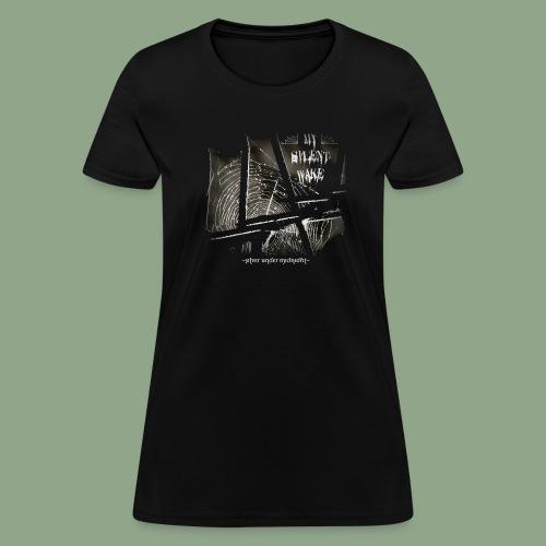 My Silent Wake Silver Under Midnight T Shirt - Women's T-Shirt