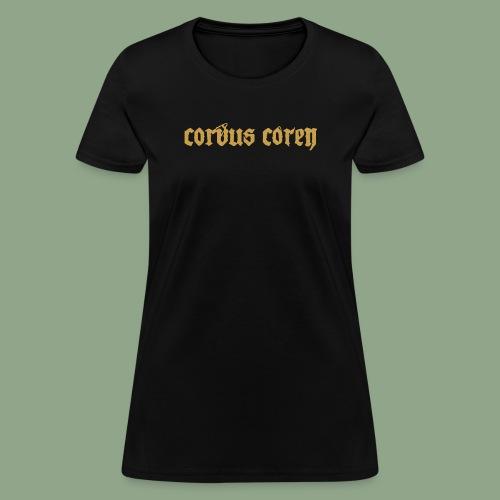 Corvus Coren - Logo #2 T-Shirt - Women's T-Shirt
