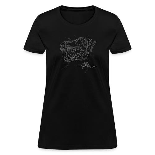Jurassic Polygons by Beanie Draws - Women's T-Shirt
