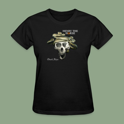 Henry the Horse - Death Abyss T-Shirt - Women's T-Shirt