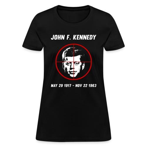 John F. Kennedy Assassination - Women's T-Shirt