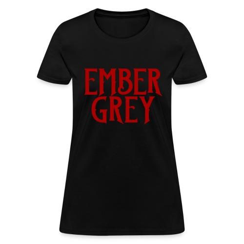 Ember Grey Name Plate - Women's T-Shirt