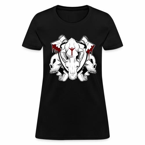 BloodAndSkulls - Women's T-Shirt
