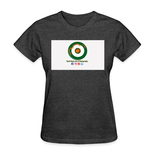 David Doyle Arts & Photography Logo - Women's T-Shirt