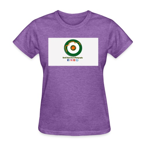David Doyle Arts & Photography Logo - Women's T-Shirt