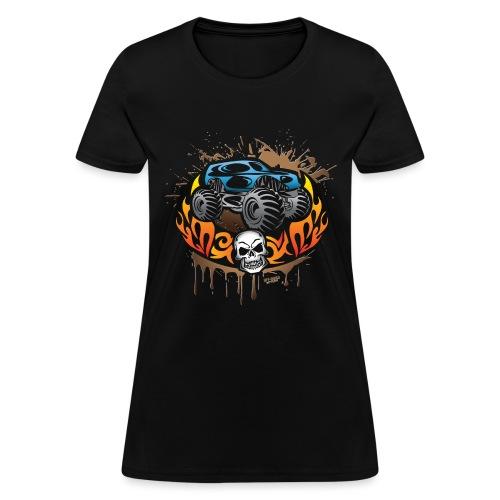 Monster Truck Shirt - Women's T-Shirt