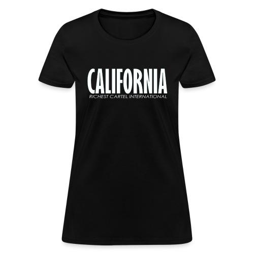 Cali White - Women's T-Shirt