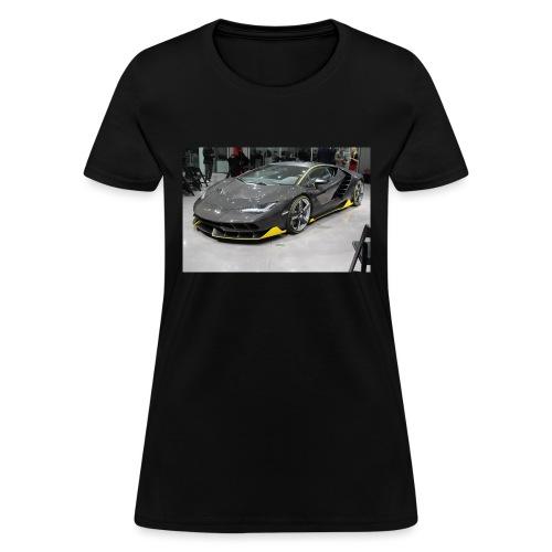 Lamborghini Centenario front three quarter e146585 - Women's T-Shirt