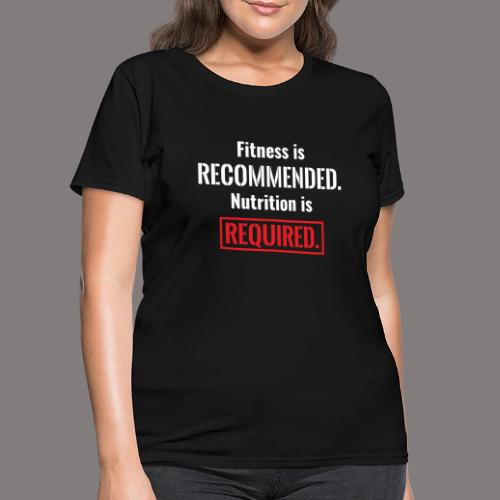 Mens_Nutrition - Women's T-Shirt