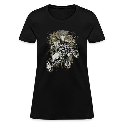 Dune Buggy Ghouls - Women's T-Shirt