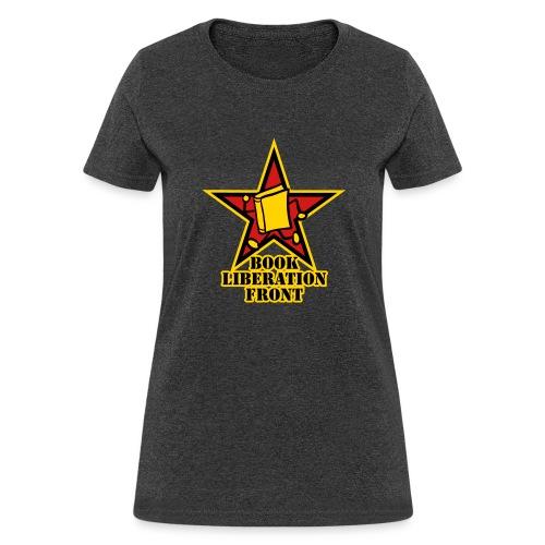 internal bally book liberation front outline mp - Women's T-Shirt