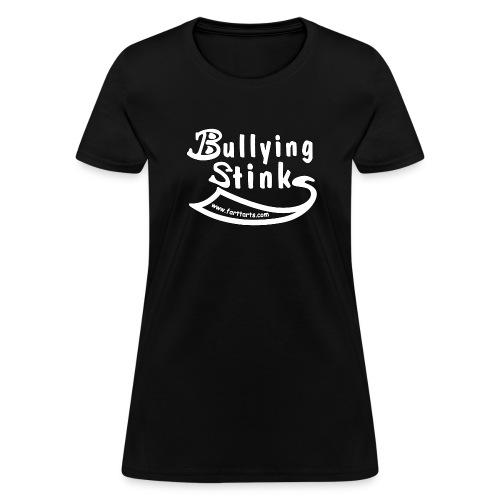 bullying stinks shirt outline png - Women's T-Shirt
