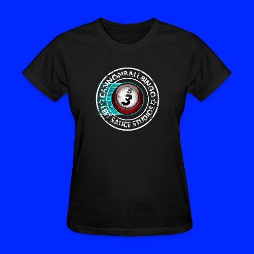 Vintage Cannonball Bingo 8-Bit Ball Tee - Women's T-Shirt