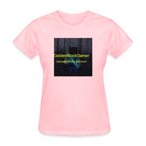 GoldenBlockGamer Tshirt - Women's T-Shirt