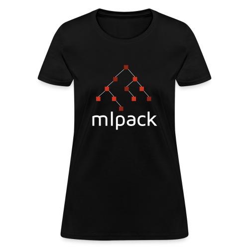 mlpack (White Logo) - Women's T-Shirt