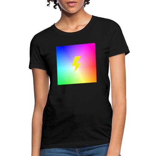Rainbow lightning t-shirt - Women's T-Shirt