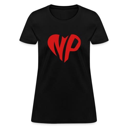 np heart - Women's T-Shirt