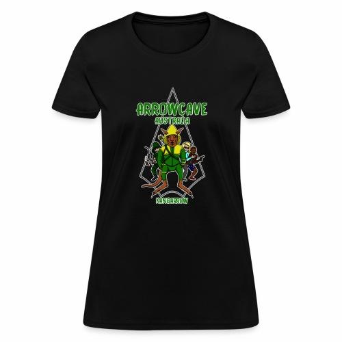 Arrow Cave Logo - Light - Women's T-Shirt