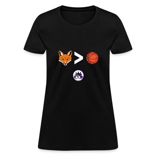 Fox is Greater-than Ball - Women's T-Shirt