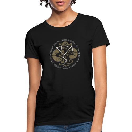 Witness True Sorcery Emblem (Alu, Alu laukaR!) - Women's T-Shirt