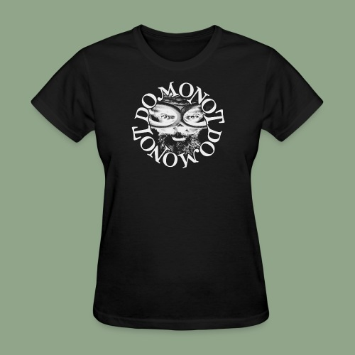 Domonot Circle Logo - Women's T-Shirt