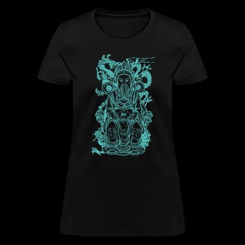 Wise Blue Monk - Women's T-Shirt