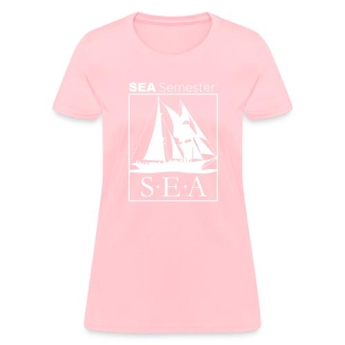 SEA_logo_WHITE_eps - Women's T-Shirt