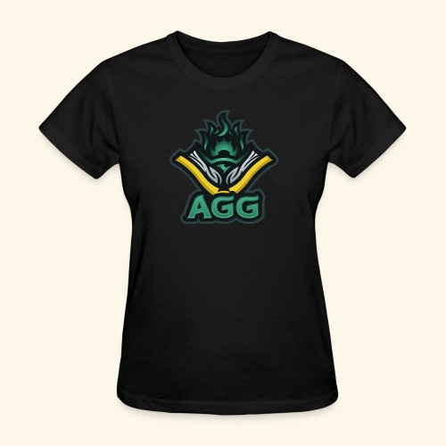 AGG Logo Text Transparent - Women's T-Shirt