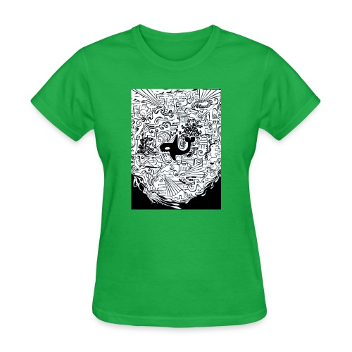 night hunt negative - Women's T-Shirt
