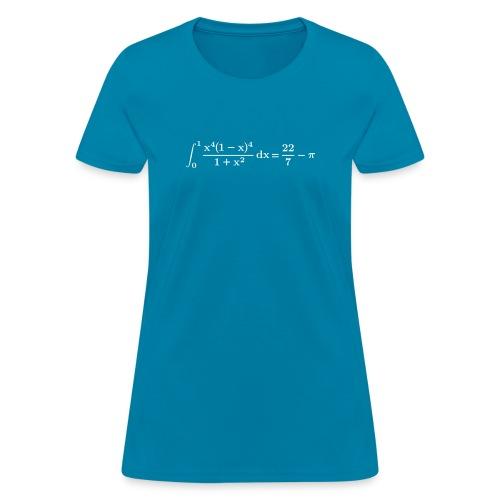 pi integral - Women's T-Shirt