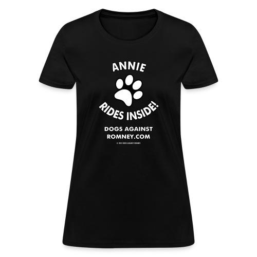 annie w - Women's T-Shirt