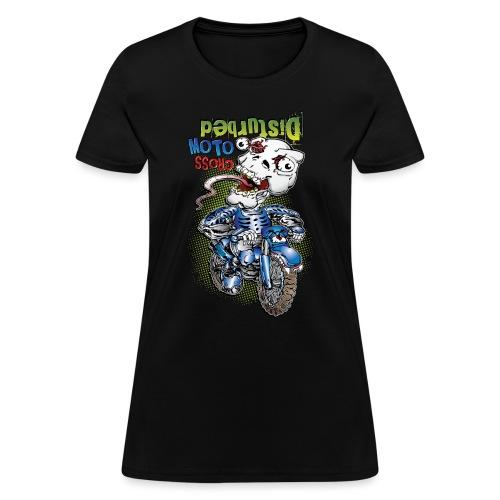Disturbed Motocross Racer - Women's T-Shirt