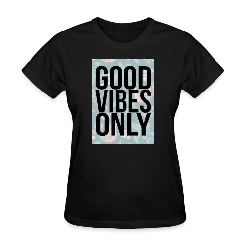 good vibes only birds - Women's T-Shirt
