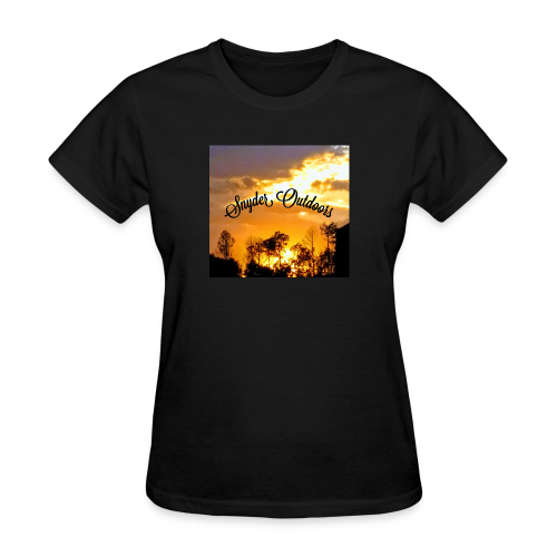 Sunset SnyderOutdoors - Women's T-Shirt