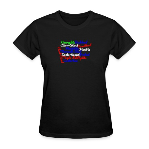 Contortion Art - Women's T-Shirt