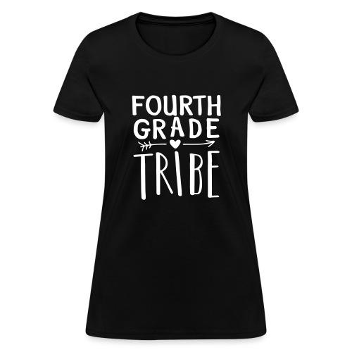 Fourth Grade Tribe Teacher Team T-Shirts - Women's T-Shirt