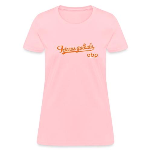 fauxback obp - Women's T-Shirt