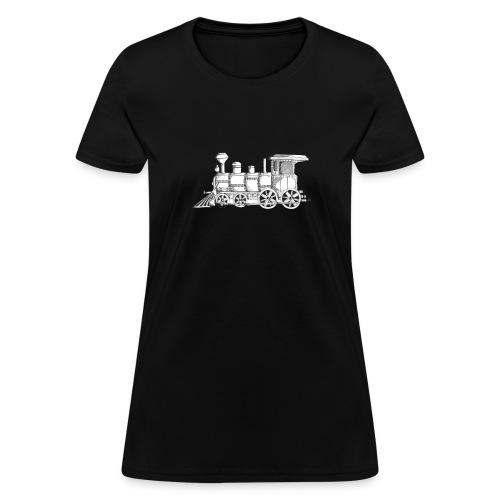 steam train - Women's T-Shirt