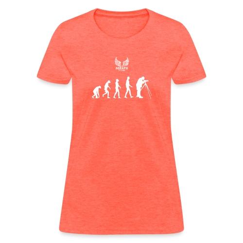 evolve png - Women's T-Shirt