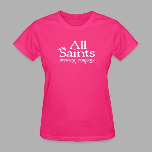 All Saints Logo White - Women's T-Shirt